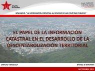 El Papel de la Información Catastral en el Desarrollo de la ...