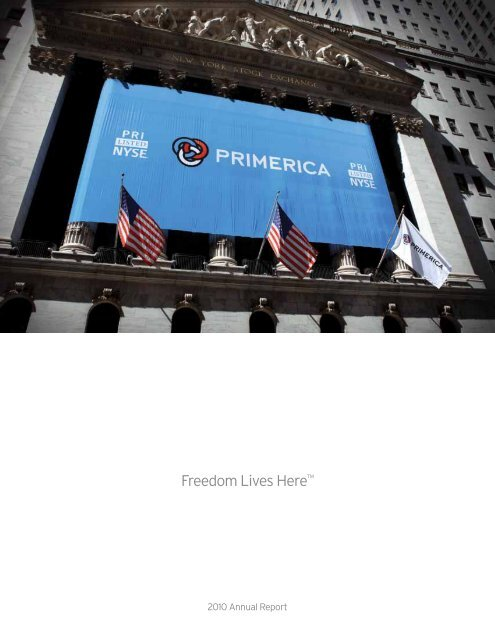Primerica 2010 Annual Report - Direct Selling News