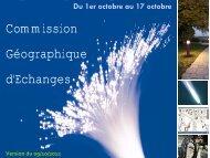 Commission géographique d'échanges - SIEA