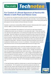 For Control of a Broad Spectrum of Hard-to-Kill Weeds ... - Pest Genie