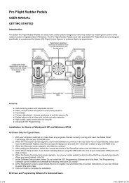 Pro Flight rudder pedals.pdf - Saitek