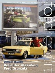 Beliebter Klassiker: Ford Granada
