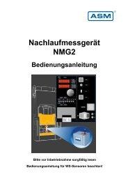 NMG2 Nachlaufmessgerät - ASM GmbH