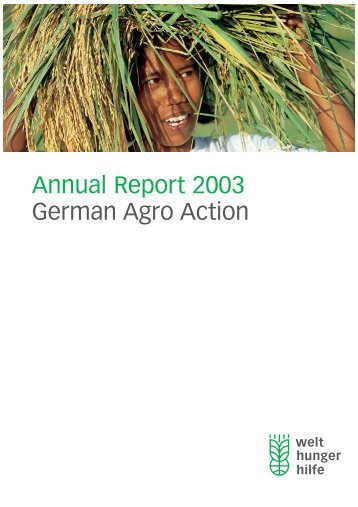 DWHH/GAA Annual Report 2003 - Internet Directory of NGOs in the ...