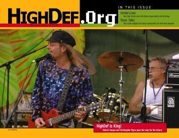 May-Jun 2000 High Bandwidth - HighDef