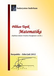 Pilihan Topik Matematika - Ee-cafe.org