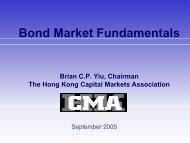 Bond Market Fundamentals - The Hong Kong Capital Markets ...