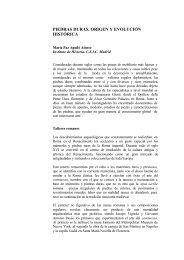 PIEDRAS DURAS. ORIGEN Y EVOLUCIÓN HISTÓRICA - CSIC