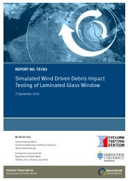 Simulated Wind Driven Debris Impact Testing of Laminated Glass ...