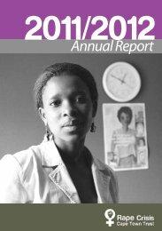 Rape Crisis Cape Town Trust – Annual Report 2011/2012