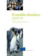 El cambio climático: ¿qué es? - OEI