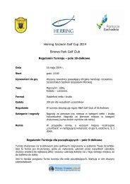 Regulamin - Herring Szczecin 2013