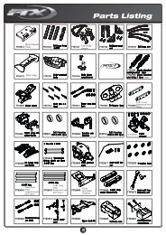 FTX Rampage Parts List - CML Distribution