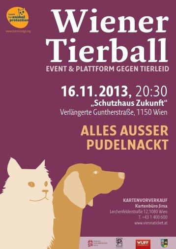 zweiter wiener tierball – 2013