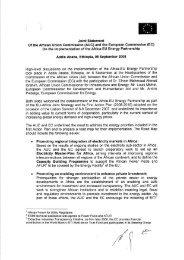 AUC-EC joint statement on Africa-EU Energy partnership ...