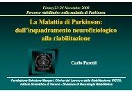 dall'inquadramento neurofisiologico alla riabilitazione