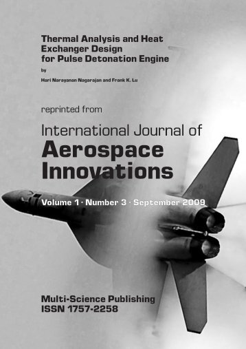 Thermal analysis and heat exchanger design for pulse detonation ...