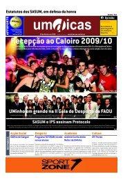 Recepção ao Caloiro 2009/10 - UMdicas - Universidade do Minho