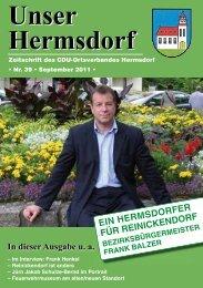 Unser Hermsdorf Unser Hermsdorf - CDU Reinickendorf
