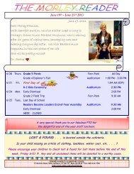Mini Reader June 19, 2013.pdf - Edward W. Morley Elementary School