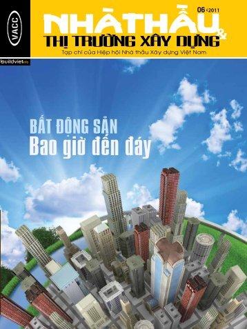 nhaø thaàu & thò tröôøng xaây döïng 06|2011 - Hiệp hội Nhà thầu ...