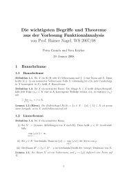 Zusammenfassung - Universität Tübingen