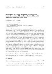 Involvement of Plasma Membrane Redox System in the ... - Gpb.sav.sk