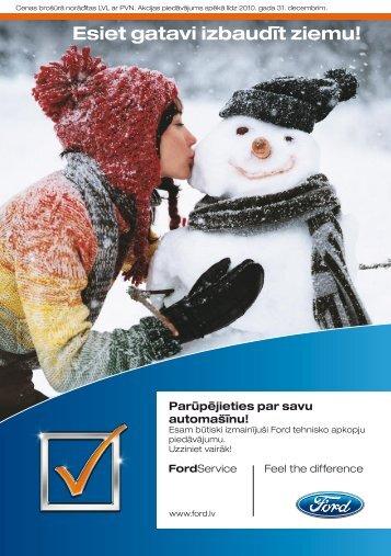 Esiet gatavi izbaudīt ziemu! - Ford