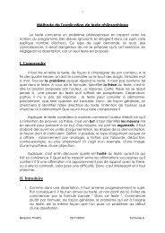 Méthode de l'explication de texte - Lyceedadultes.fr