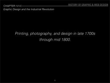 ANM102-Session04-Graphic design and the industrial revolution