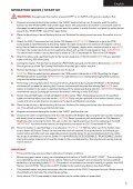 USER MANUAL English Français Español - Mcarterbrown.com - Page 5