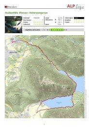 Wandern Stuibenfälle -Plansee - Heiterwangersee - Lechtal-Reutte