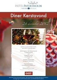 Diner Kerstavond