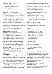 1 Texte für junge Spieler ¨ 116 Hans Georg Kraus So nicht und so ...