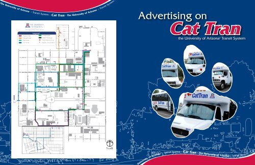 Advertising on - UA Parking and Transportation Services