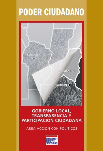 GOBIERNO LOCAL, TRANSPARENCIA Y ... - Poder Ciudadano