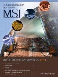 MediaKit MSI 2011.indd - MSI Polska