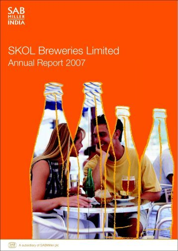 Annual report-2007.pmd - SABMiller India