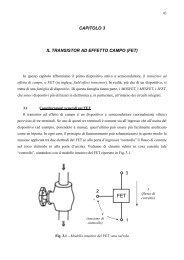 CAPITOLO 3 IL TRANSISTOR AD EFFETTO CAMPO (FET) 1 ... - dieet