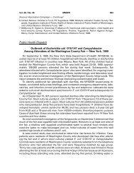 Public Health Dispatch Outbreak of Escherichia coli O157 ... - Library
