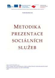 metodika prezentace sociálních služeb - Královéhradecký kraj