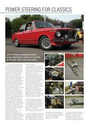 POWER STEERING FOR CLASSICS - BMW 2002