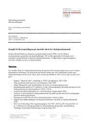Utviklingen av idrett for funksjonshemmede - Norges idrettsforbund