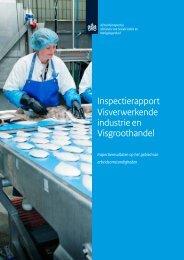 Arbeidsomstandigheden in de Visverwerkende ... - Inspectie SZW