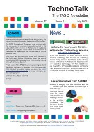 Volume 17, No 3 – Onscreen Keyboard Review - Cerebral Palsy ...