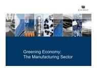 Greening Economy - Ecologic Events
