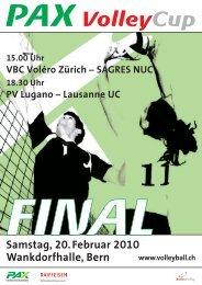 Samstag, 20.Februar 2010 Wankdorfhalle, Bern