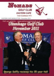 Nomads November2011.pdf - Eastern Cape