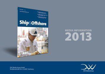 Schedule and subject plan 2013 - Ship & Offshore