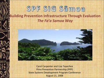 Lisa Teyechea, B.A. - State Systems Development Program VIII ...